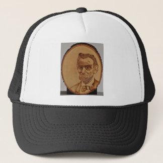Abraham Lincoln Portrait Trucker Hat