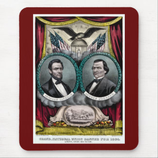 Abraham Lincoln Presidential Campaign 1864 Mousepad