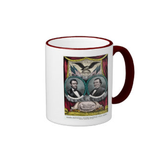 Abraham Lincoln  Presidential Campaign 1864 Mugs