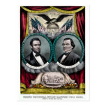 Abraham Lincoln Presidential Campaign 1864 Postcard