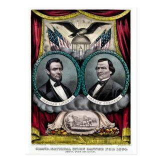 Abraham Lincoln Presidential Campaign 1864 Postcard