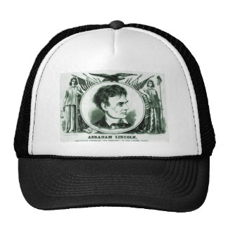 Abraham Lincoln Presidential Candidate Mesh Hat