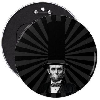 Abraham Lincoln Presidential Fashion Statement 6 Cm Round Badge