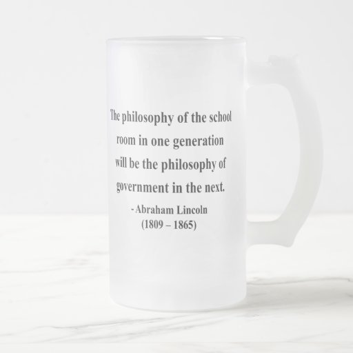 Abraham Lincoln Quote 11a Mug