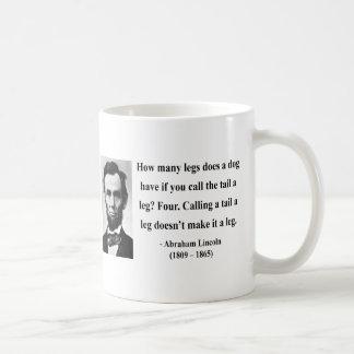 Abraham Lincoln Quote 13b Coffee Mug