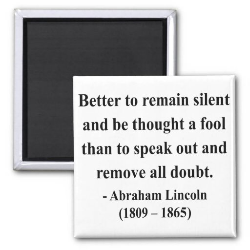 Abraham Lincoln Quote 15a Magnet