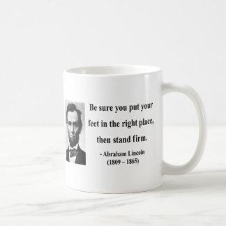Abraham Lincoln Quote 16b Coffee Mug