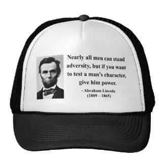 Abraham Lincoln Quote 6b Cap