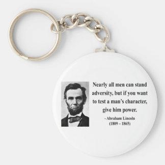 Abraham Lincoln Quote 6b Key Chains