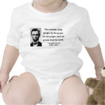 Abraham Lincoln Quote 7b Baby Bodysuits