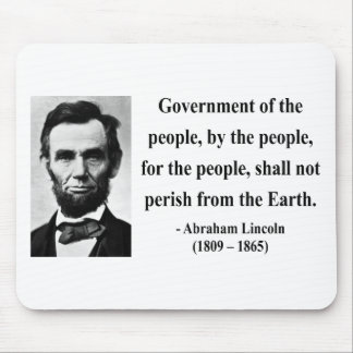 Abraham Lincoln Quote 7b Mouse Mat