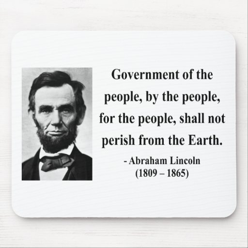 Abraham Lincoln Quote 7b Mousepad