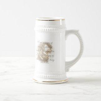 Abraham Lincoln Quote Beer Stein 18 Oz Beer Stein