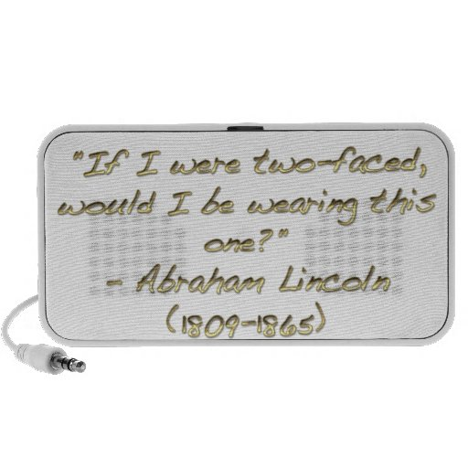 Abraham Lincoln quote Travelling Speakers
