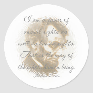 Abraham Lincoln Quote Stickers