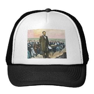 Abraham Lincoln Recites the Gettysburg Address Vin Cap