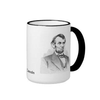 Abraham Lincoln Ringer Mug