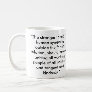 Abraham Lincoln Socialist Quote Basic White Mug