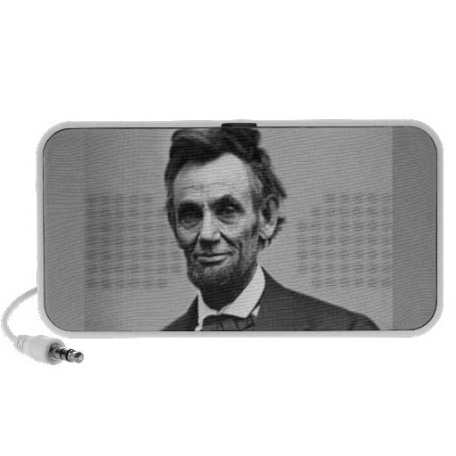 Abraham Lincoln iPod Speakers