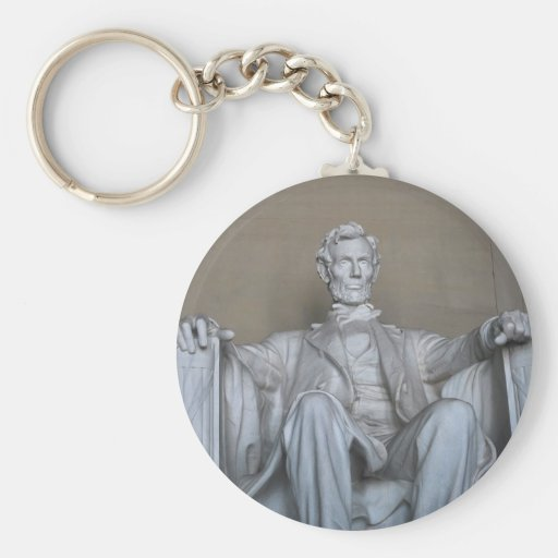 Abraham Lincoln statue Keychains
