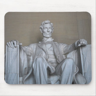 Abraham Lincoln statue Mouse Pad
