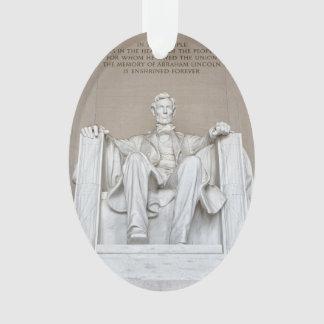 Abraham Lincoln Statue Ornament
