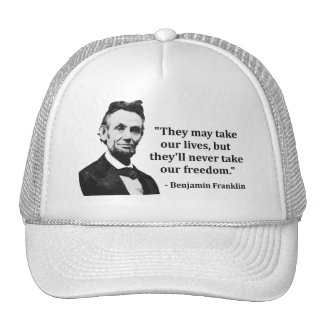 Abraham Lincoln Troll Quote Hat