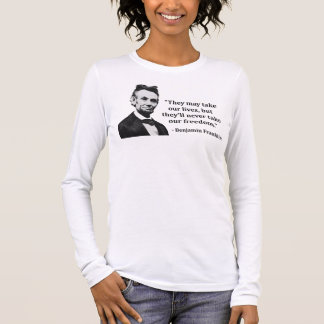 Abraham Lincoln Troll Quote Long Sleeve T-Shirt