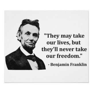 Abraham Lincoln Troll Quote Print
