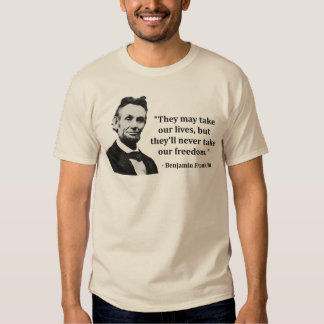 Abraham Lincoln Troll Quote T-shirts