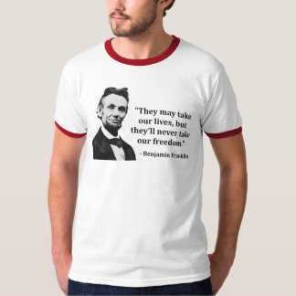 Abraham Lincoln Troll Quote Tee Shirts