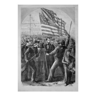 Abraham Lincoln Vintage Artwork Poster