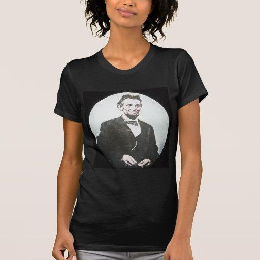 Abraham Lincoln Vintage Magic Lantern Slide Tshirts