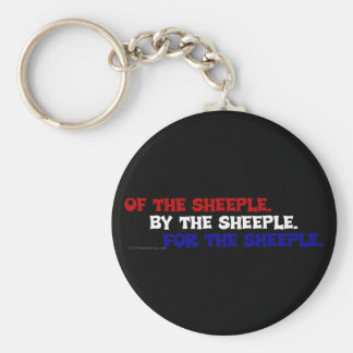 Abraham Lincoln would be ashamed of America Basic Round Button Key Ring