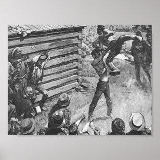 Abraham Lincoln Wrestling Poster