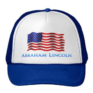 Abraham Lincooln - Blue Trucker Hat