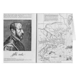 Abraham Ortel Oretelius Card