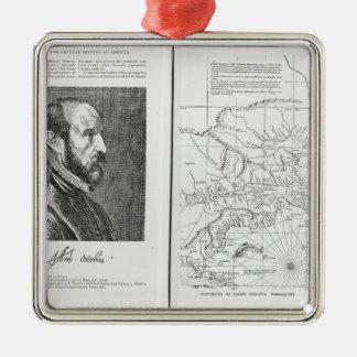 Abraham Ortel Oretelius Christmas Ornament