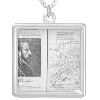 Abraham Ortel Oretelius Silver Plated Necklace