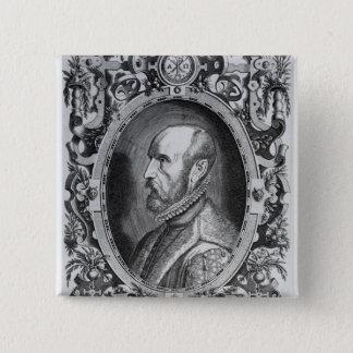 Abraham Ortelius 15 Cm Square Badge