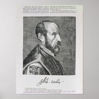 Abraham Ortelius Poster