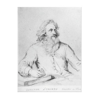 Abraham Symonds, after a portrait Canvas Print