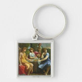 Abraham & The Three Angels Keychain