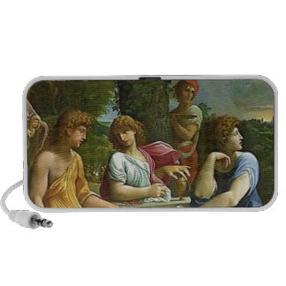Abraham & The Three Angels iPhone Speakers