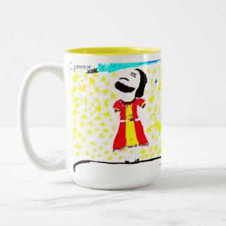 Abraham Two-Tone Coffee Mug