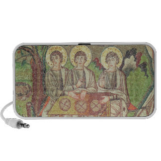Abraham with the angels (mosaic) laptop speaker