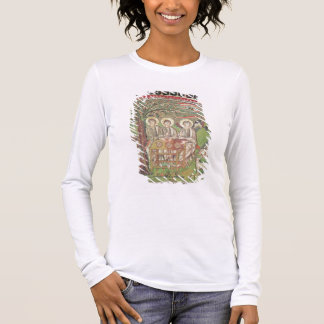Abraham with the angels (mosaic) long sleeve T-Shirt