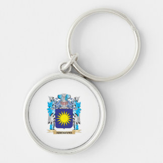 Abrahams Coat Of Arms Keychain