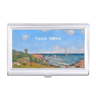 "Abrahamsson's ""Archipelago"" business card holder"