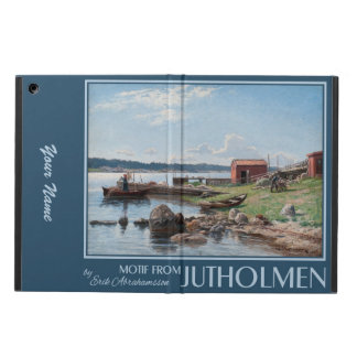 """Abrahamsson's """"Motif from Jutholmen"""" cases iPad Air Covers"""